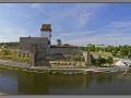 Narva fortress, view from Ivangorod fortress