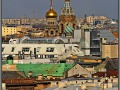Saint-Petersburg, panorama, Church of the Savior on Spilled Blood