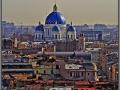 Saint-Petersburg, panorama, Troitsky Cathedral