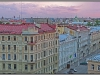 St.Petersburg, city view from the roof of the building