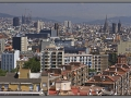 Barcelona, panorama of the city