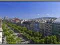Barcelona, La Pedrera, view from the top