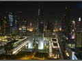 Dubai, view from Emirates Towers Hotel, 23 floor