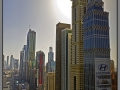 Dubai; view from Emirates Towers Hotel; 23 floor