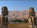 Egypt, Luxor, Colossi of Memnon