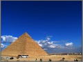 Egypt, Giza, Pyramid of Khafre