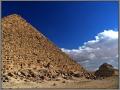 Egypt, Giza, Pyramid of Menkaure