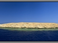 Egypt, Red Sea, Zabargad reef, Rocky island