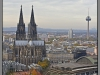 """Germany, Cologne citiy view from """"Panorama"""""""
