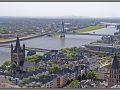 Germany, view from the Cologne Cathedral