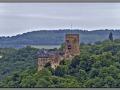 Germany, Rheinland-Pfalz, Burg Lahneck (view from Stolzenfels)