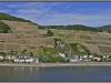 Germany, Rheinland-Pfalz, Burg Rheinstein - Rhein view
