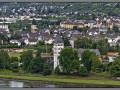 Germany, Rheinland-Pfalz, Rhine view from Stolzenfels Castle