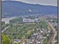 Germany, Stolzenfels castle - view from Marksburg