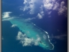 Maldives islands, view from air