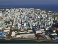 Maldives, Male, panorama of the city