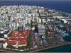 Maldives, Male, panorama of the city