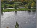 Narva and Narova river, view from Ivangorod