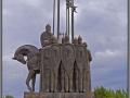 Pskov, Alexander Nevski monument (2013)