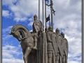Pskov, Alexander Nevski monument (2015)