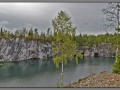 Karelia, Ruskeala. Marble lake