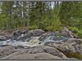 Karelia, Ruskeala. Waterfall