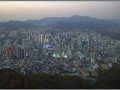Korea, Seoul - view from Seoul Tower (N-Seoul)