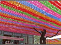 Korea, Seoul, Jogyesa temple