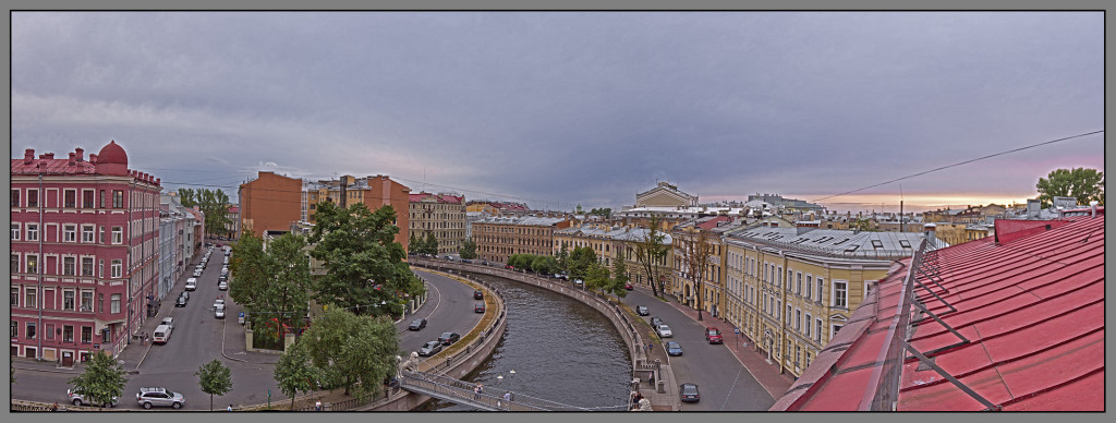 St. Petersburg, panorama