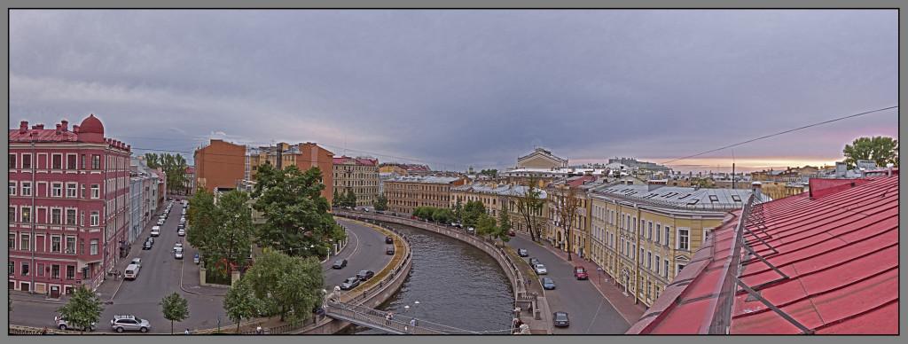 St. Petersburg, panorama