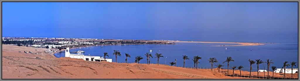 Egypt, Dahab, panorama