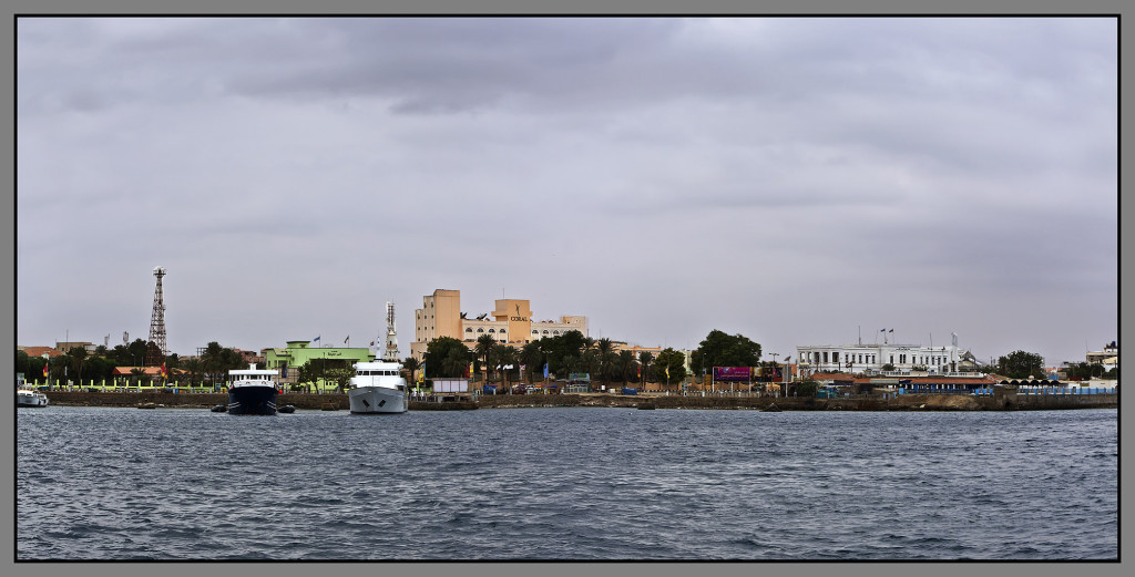 Sudan, panorama of Port Sudan