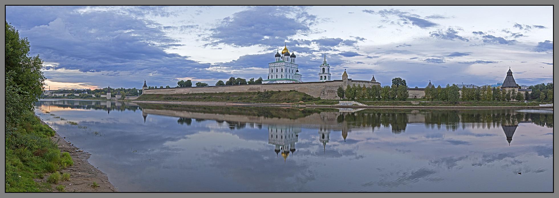 Pskov, panorama