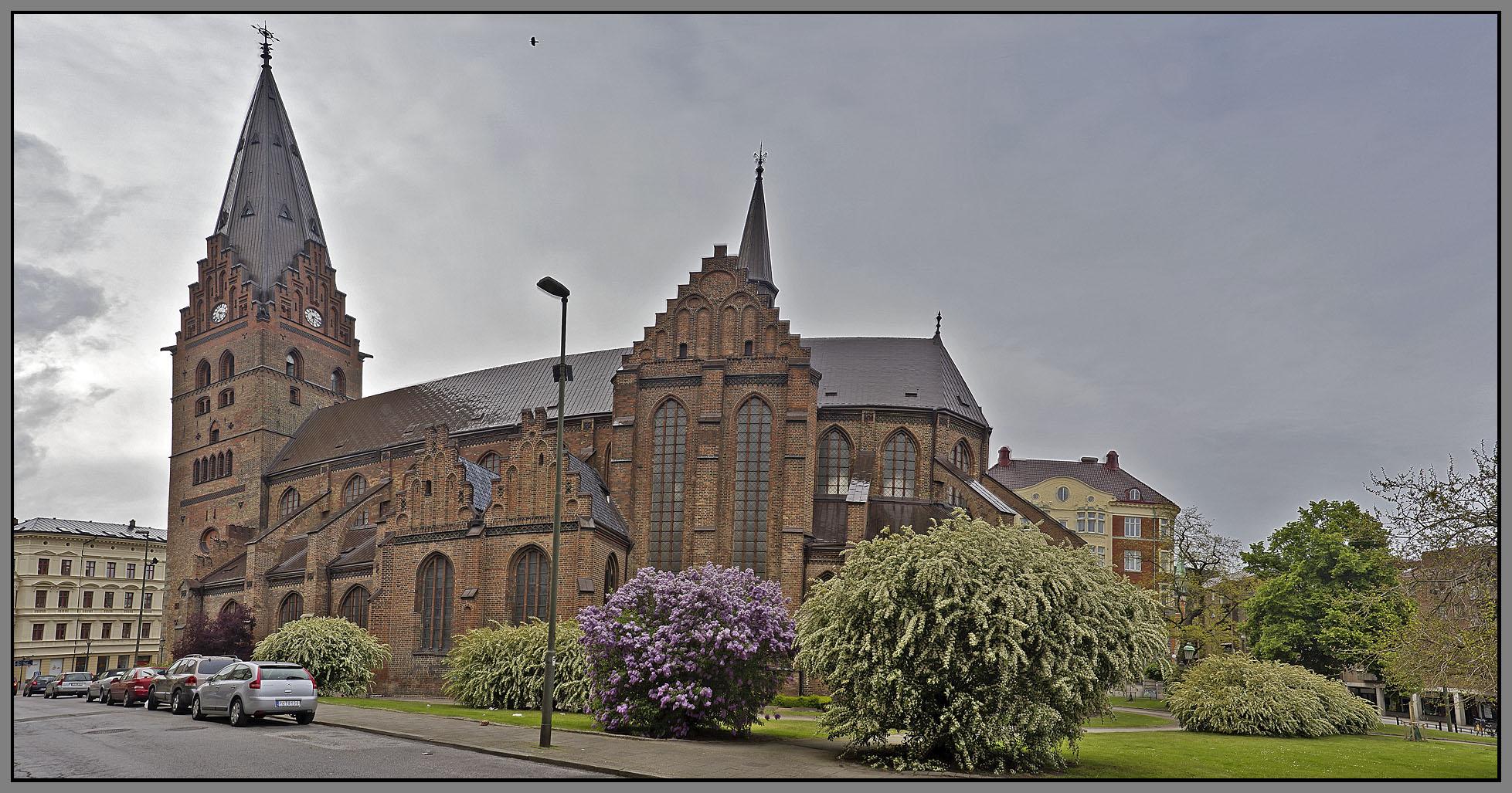 Sweden, Malmo - Sankt Petri kyrka